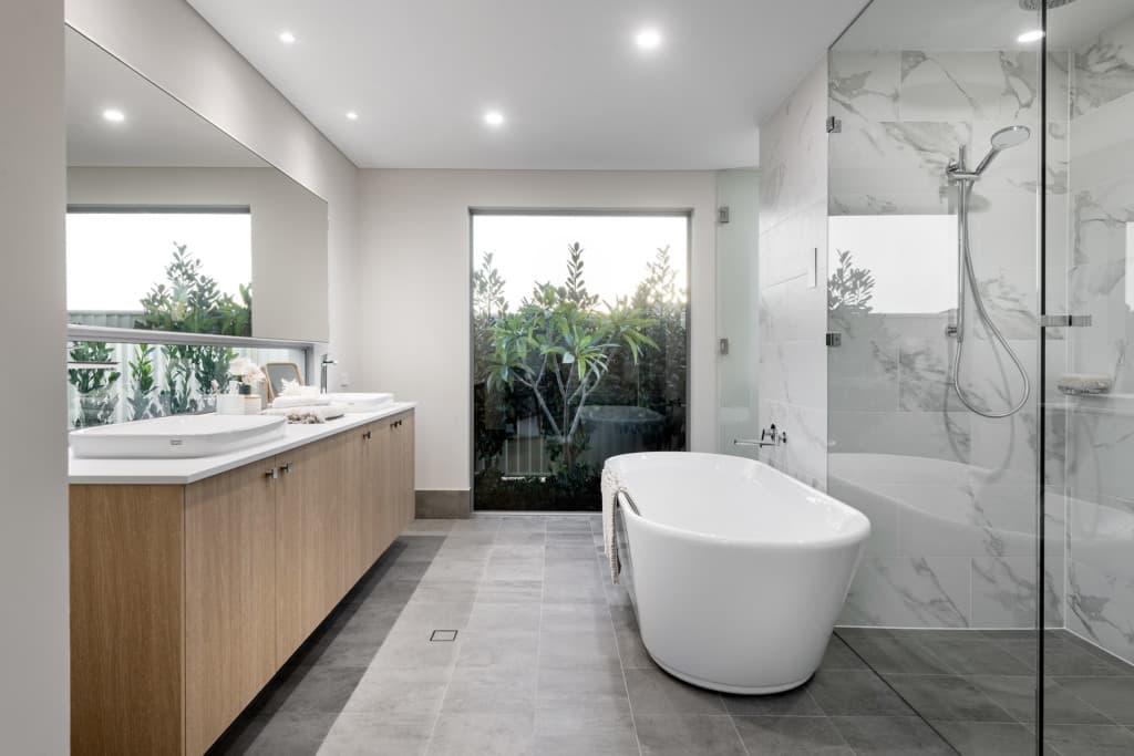 Dale's beautiful bathrooms are built with Reece | Dale Alcock Homes Perth